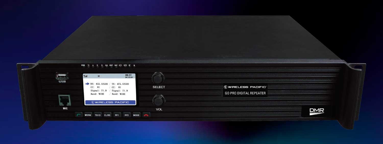Go Pro DMR digital repeater