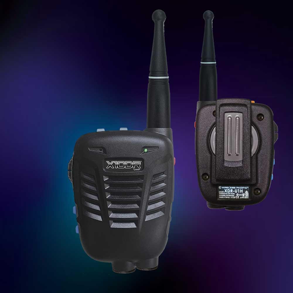 XRD Shoulder radio
